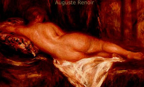 "La Gran Odalisca, argumentación de Jean Auguste Ingres (1814), sinapsis de Auguste Renoir (1890), Pablo Picasso (1907), Amadeo Modigliani (1917). • <a style=""font-size:0.8em;"" href=""http://www.flickr.com/photos/30735181@N00/8805015211/"" target=""_blank"">View on Flickr</a>"