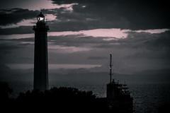 IMG_0341-2 (Ing. Pdiablos) Tags: light sea bw lighthouse house beach faro italia mare romance spiaggia romantico luce taranto stunnig