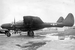 Northrop P-61C, NAS San Diego, 1946 (San Diego Air & Space Museum Archives) Tags: airplane aircraft aviation blackwidow 1946 militaryaviation prattwhitney northrop p61 nightfighter nassandiego r2800 northropp61c prattwhitneyr2800 p61blackwidow northropp61blackwidow northropp61 northropblackwidow