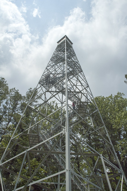 Hoosier National Forest - Hickory Ridge Fire Tower - June 2013