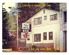 A MOLDY OLDIE SENTIMENT (NC Cigany) Tags: summer vacation motel greetingcard marginal 0492