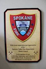 Honor Guard Award (Spokane Valley Fire Department) Tags: svfd sfdaward
