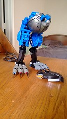Terror Bird WIP (Bundalings) Tags: lego wip technic bbc bionicle moc rahi