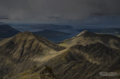 Glen Sligachan - Skye (Michael~Ashley) Tags: light mountain skye clouds photography scotland highlands nikon hill scottish glen ridge climbing summit munro cuillin elgol blabheinn torrin sliagachan