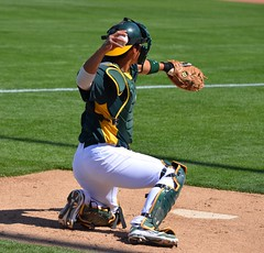 Kurt Suzuki behing plate (jkstrapme 2) Tags: hot male jock baseball bulge