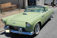 T-bird front (Civilized Explorer) Tags: ford thunderbird tbird civex
