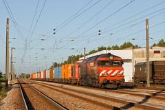Poceirão - Praias do Sado (Nohab0100) Tags: train railway 1900 locomotive cp comboio locomotiva alsthom poceirão cpcarga