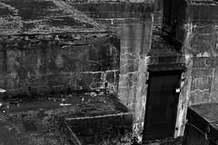 IMG_3265 (Wespennest) Tags: park shadow blackandwhite white black alexandria concrete virginia raw fort angles sediment pitch fortification asphalt hunt tar beton brut weathering forthunt betonbrut rawconcrete