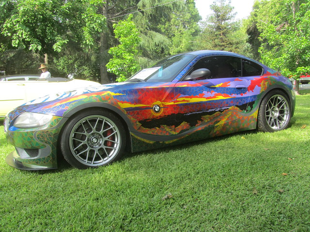 art car m bmw z4 coupe 2007