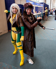 Rogue and Gambit (uncle_shoggoth) Tags: california comics costume san sandiego cosplay diego convention rogue marvel costuming comiccon gambit geeky sdcc