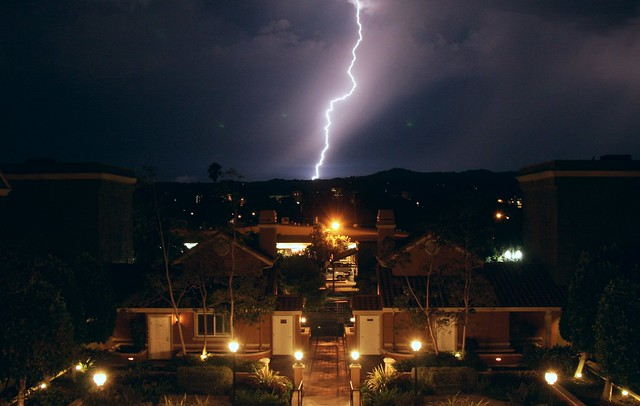 Lightning in San Mateo, No. 4