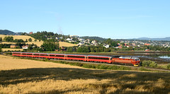 Tog 471 130824-10 Vre (JonR31) Tags: norway train trondheim nsb tog vre di4