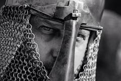 The steel gaze (Giulio Magnifico) Tags: portrait look metal helmet streetlife gaze udine nikond800e nikkormicro105mmafsvrf28