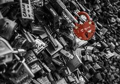 Iloveyou (WingnutPhotography) Tags: bridge paris art love canon mono heart you louvre romance pop des lovers 7d pont locks 24105 i