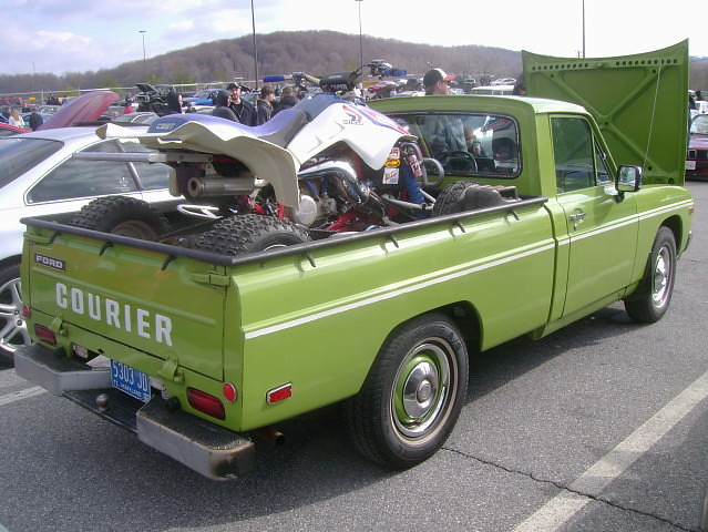 ford truck pickup courier 1973 carshow huntvalleymd huntvalleytownecentre huntvalleyhorsepower