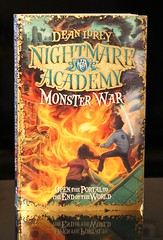Monster War (Vernon Barford School Library) Tags: new school fiction monster reading book high library libraries dean reads books read paperback fantasy cover junior novel covers monsters nightmare bookcover schools middle academy vernon recent bookcovers paperbacks nightmares novels fictional barford softcover fantasyfiction lorey academies vernonbarford softcovers nightmareacademy 9780007257218