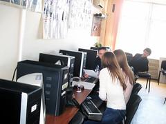 Типичный компьютерный класс кафедры РМПИ ДонНТУ