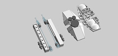 P8-1 Weapons (phayze81) Tags: lego equipment scifi defense melee moc mfz mf0 mobileframezero