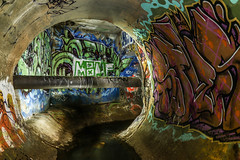 Sofles (Voodoooz) Tags: camera old travel urban hot sexy brick abandoned danger buildings reflections concrete photography photo nice montana pics tripod extreme australia babe brisbane tourist adventure drain flashback explore 94 infiltration qld mtn aussie exploration drainage urbex tourer flicks abando ironlak urbexaus urbexqld