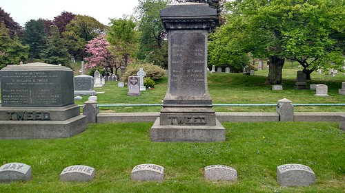 Boss Tweed and family resting place