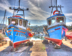 Scottish Fishing Boats in HDR (charlieinlesmahagow) Tags: life old beautiful beauty reflections spectacular boats scotland seaside still fishing ancient colorful village harbour fife traditional scottish sunsets crab drop photographic calm quay historic northsea lobster manmade delivery historical colourful fishingboats hdr eastcoast fishingvillage quayside photogenic crail creel lobsterboats oldharbour established eastneukoffife eastneuk scottishhistory fishingvillages stonebuilt historicalvillage stonebuild crabboats historiclocation historictowns creelboats greatharbour picturesqueharbour oldharbours humanbuild bestharbour charlieinlesmahagow superbharbours eastcoastfishingvillages peoplebuilt eastcoasttowns