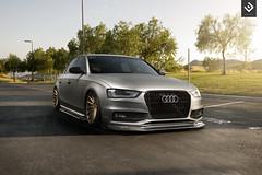 ENLAES EB8X / Audi B8.25 S4 Matte Grey (ENLAES) Tags: grey carbon audi matte carbonfiber s4 vossen b8 accuair enlaes vfs2 eb8x