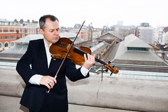 Ready, Set, Go: Principal Violist Andriy Viytovych leads the Orchestra of the Royal Opera House in a musical marathon