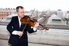 Ready, Set, Go: Principal Violist Andriy Viytovych leads the Orchestra of the Royal Opera House in a musical marathon