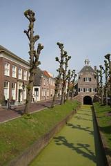 Helemaal groen (Maurits van den Toorn) Tags: haven green town groen hoteldeville vert townhall grn rathaus stad stadhuis nieuwpoort vestingstad
