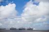 3 Queens (MarkAnderson2) Tags: liverpool river ships celebration cunard redarrows mersey 3queens cundard 175thyear