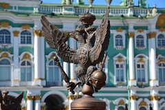 The Hermitage from Palace Square (St Petersburg, Russia 2015) (paularps) Tags: travel europa europe flickr russia rusland cultuur reizen 2015 stedentrip citytrip sintpetersburg arps paularps nikond7100 afsdxnikkor18140mm federalrepublicofrussia