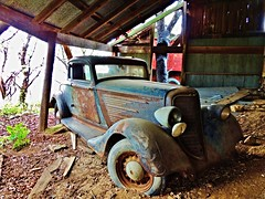 built with American pride(in 1930)... (BillsExplorations) Tags: abandoned car vintage 1930s rust automobile pride retro forgotten american dodge discarded coupe ruraldecay zztop abandonedcar abandonedfarm dodgebrothers 5window barnfind