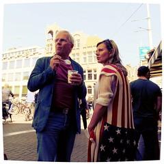 dag Amsterdam (Kruijssen) Tags: street people amsterdam spring dam sunny straat mensen voorjaar rokin toerist zonnig
