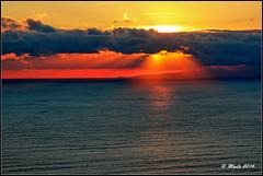 Sunset colors (Maurizio Longinotti) Tags: sunsetcolors sunset tramonto sanroccodicamogli camogli golfoparadiso liguria caponoli mare sea sun sole cielo sky colors colori italia italy marligure