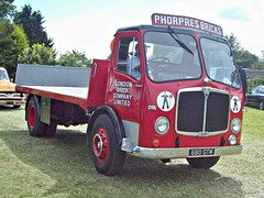 202 AEC Mercury 2 (robertknight16) Tags: aec british 1960s mercury mercuryii londonbrick phorpres truck lorry flatbed luton 680gtm