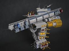 EFS Asimov (Sunder_59) Tags: lego moc mecabricks blender3d render space spaceship spacecraft starship shiptember shiptember2016