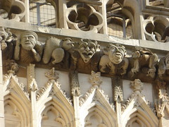 Grotesques, York Minster (Aidan McRae Thomson) Tags: york minster cathedral yorkshire carving gargoyle