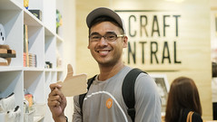 the craft central greenbelt 5 makati (28 of 37) (Rodel Flordeliz) Tags: crafts arts artsandcrafts crafting materials hardtofind opening store thecraftcentral greenbelt makati makaticity sqooid artists incribbler ink painters