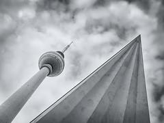 Fernsehturm Berlin (@Tuomo) Tags: berlin germany tower fernsehturm televisiontower olympus ep5 zuiko 1240mm cityscape