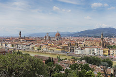 The Florentine Skyline (kristianoosterveen) Tags: florence florentine skyline overview italy italian