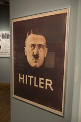 Hitler poster (quinet) Tags: 2013 allemagne deutschland germany hakenkreuz hitler munichstatemuseum mnchen nsdap plakat rassismus stadtmuseummunich affiche nazi poster racism racisme svastika swastika munich bavaria