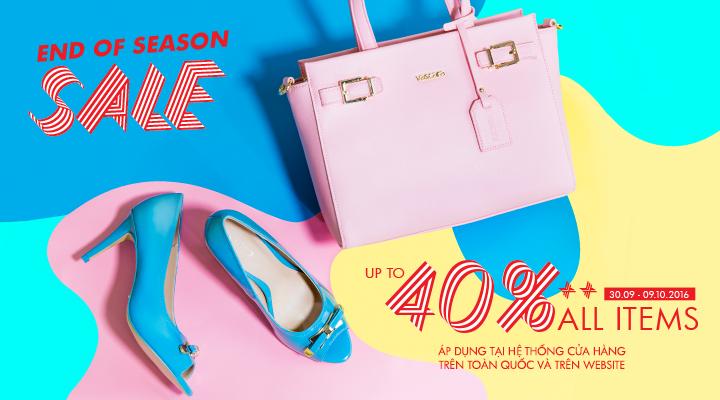 Vascara – End of Season Sale – Ưu đãi 40%++ tất cả sản phẩm trên toàn hệ thống