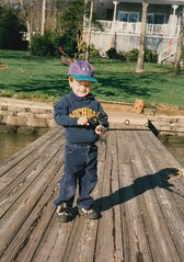 Sam (Childhood) (abbyef) Tags: sam brother family fishing pier dock laketillery