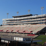 Carter-Finley Stadium, construction of Vaughan Towers; 2004