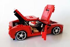 Ferrari F12 Berlinetta (MortalSwordsman) Tags: ferrarif12berlinetta ferrari lego legocar legoferrari f12