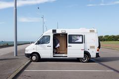 (Peter de Krom) Tags: hvh boulevard skirt camper parking parked neat dress surfing surfer van summer