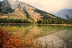 Cloudy Times (Eyes Open To Life) Tags: tetonnationalpark tetons mountains reflections lake leighlake stringlake cloudy