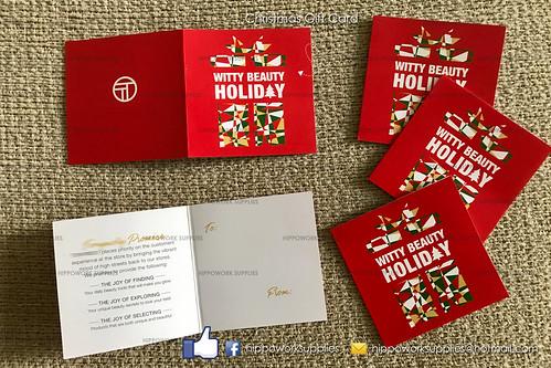 Christmas Gift Card Printing