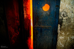 All Your Steel: Door to hell (UJMi) Tags: iron lahore pakistan steel steelmill fire industrial night sony nex nex7 electric furnace smelter hardwork ironwork idustry