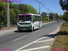 Pullman San Bernardo.- (Pepito_Busologia Chilena_) Tags: induscar caio foz